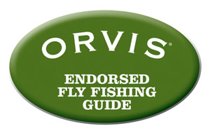 orvis endorsed fly fishing guide logo
