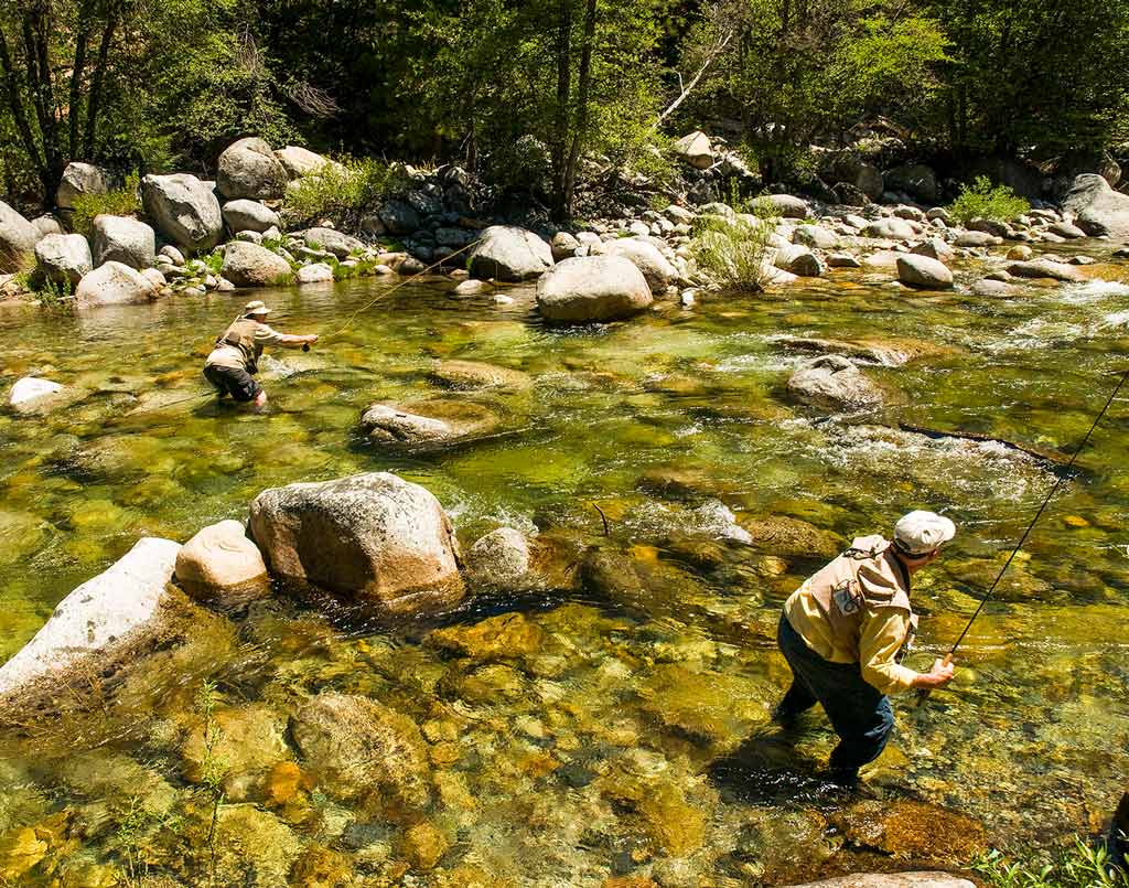 Yosemite South Fork Merced River Fly Fishing